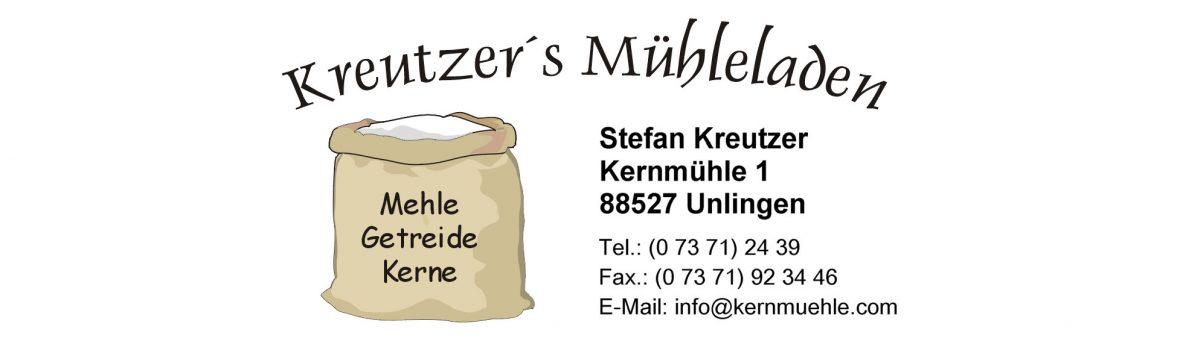 Kreutzer's Mühleladen Stefan Kreutzer Kernmühle 1 88527 Unlingen